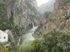 Das erste Flussbett (Wadi) in Marokko