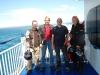 Auf der Fähre von Tarifa nach Tanger (Marokko)