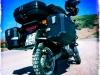 Bastis Suzuki DR Big 800 vollbepackt auf marokkanischer Offroadpiste