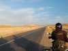 Mit dem Motorrad auf dem Weg nach Midelt. Marokko