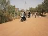 Triumph Tiger XC 800 endlich im Wüstensand festgefahren.